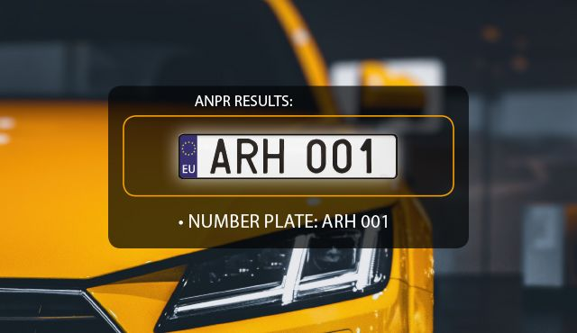 tailored ANPR software by ARH