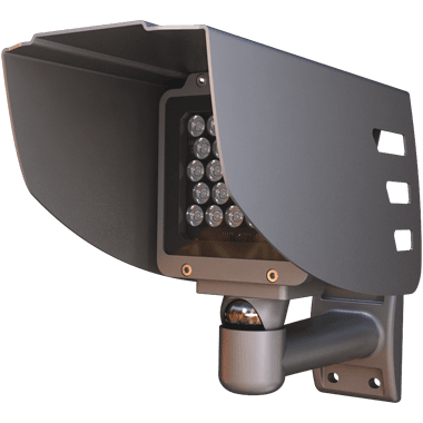 IR light extension for anpr camera