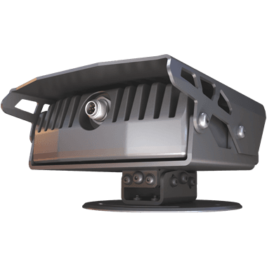 MicroCAM mobile ANPR camera rear view