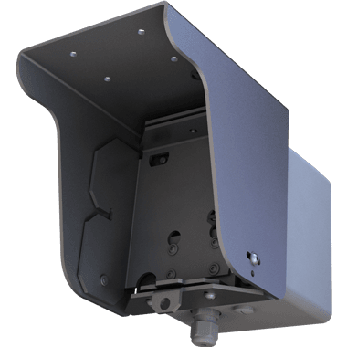 radar for anpr cameras rear view