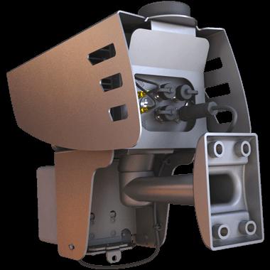 SpeedCAM speed camera mounting