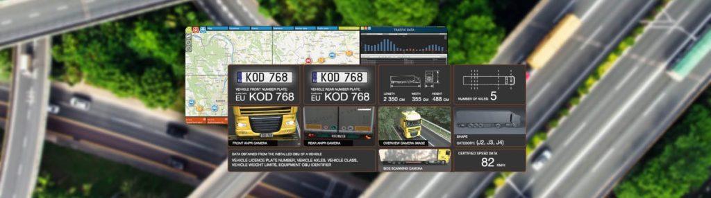 traffic data gathered by ANPR