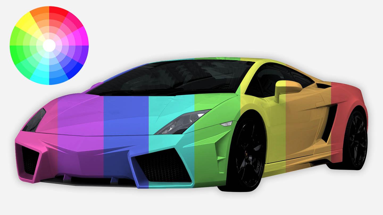 Carmen vehicle color recognition software