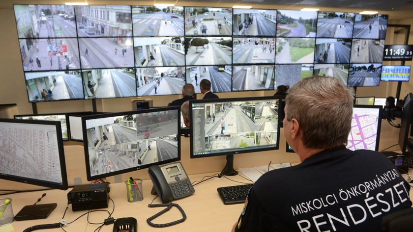 public security with cctv system in Miskolc