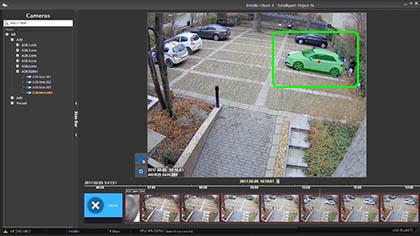 object-based search in cctv records