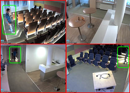 cctv system with intelligent live view