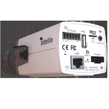 Intellio Visus Box CCTV camera rear view