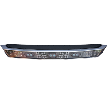 police car light bar with camera
