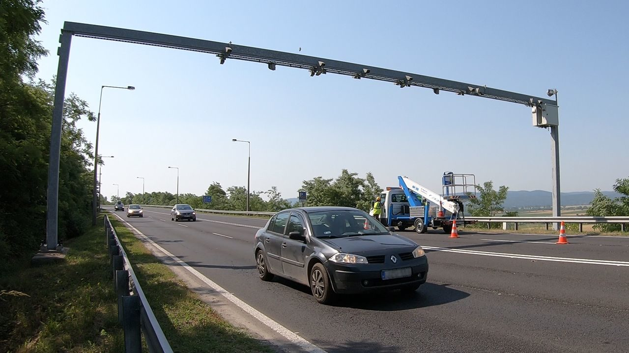 Nation-wide traffic enforcement in Hungary