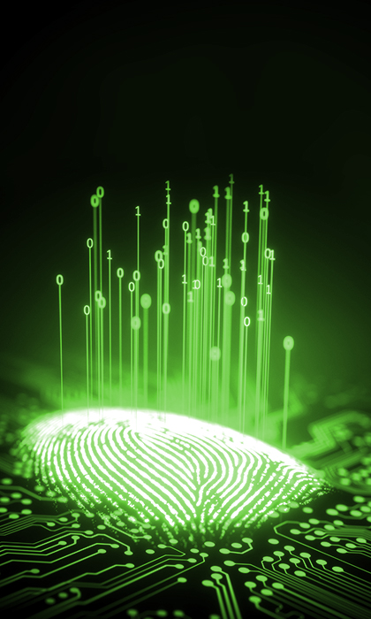 fingerprint scanning software functions