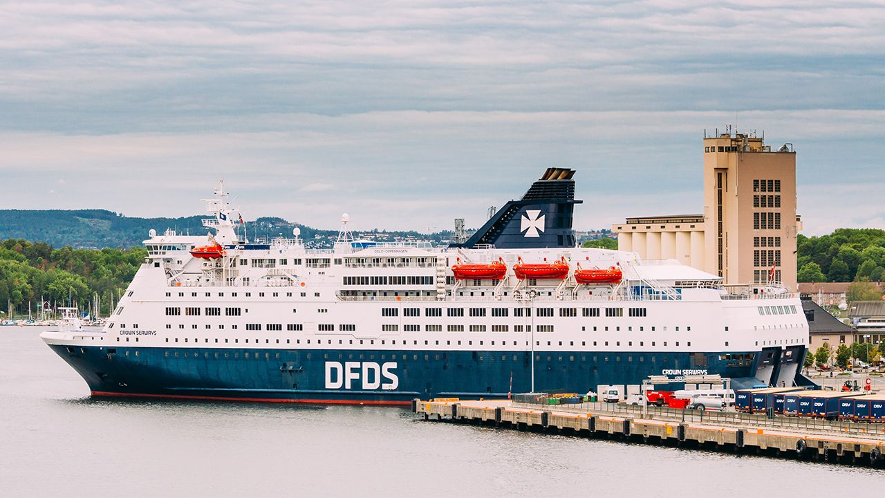 ANPR and ID scanners at DFDS