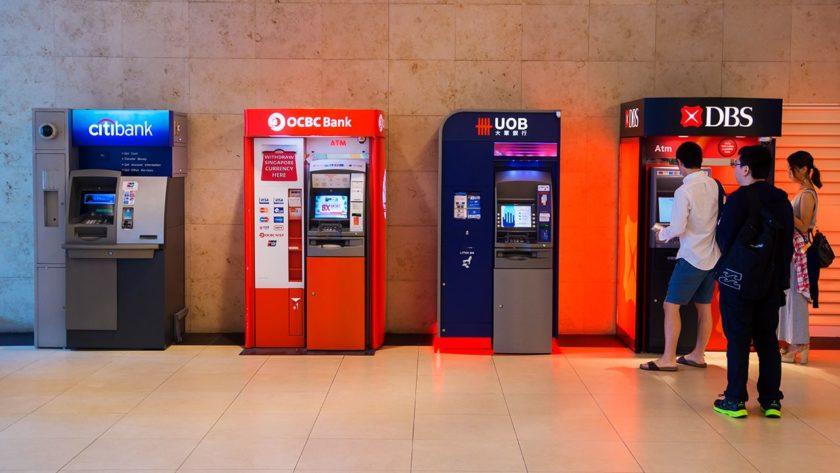 ID scanners in DBS ATM