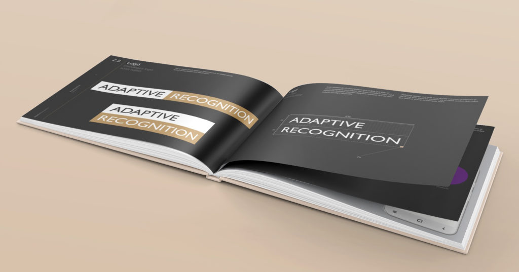 adaptive recognition new corporate identity