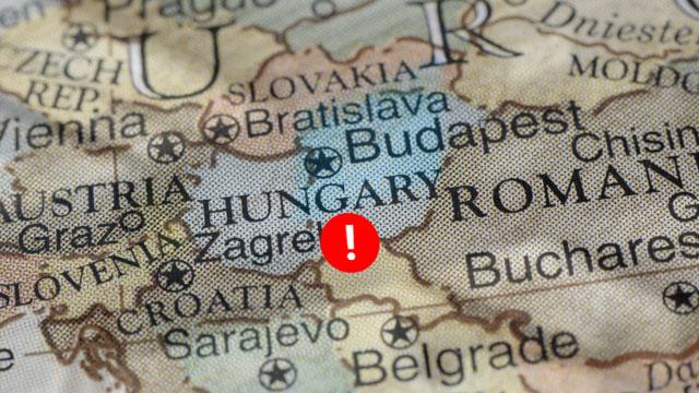 Hungary Röszke border control