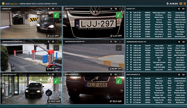 ANPR-based parking system