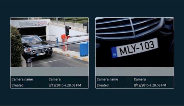 ANPR software for parking system