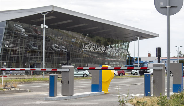 parking system at czech airport