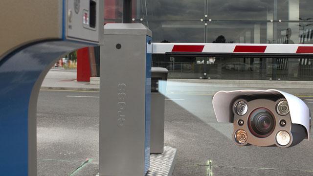 ANPR camera for parking system