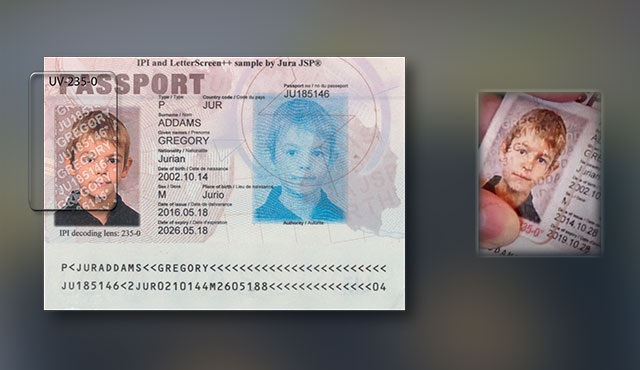 passport reader with IPI check