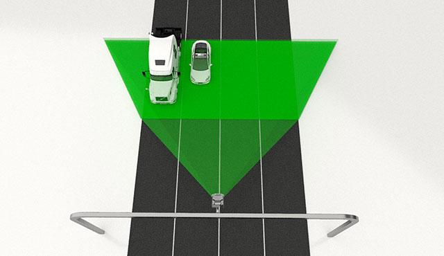 multi-lane license plate recognition