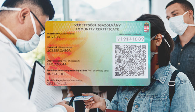 The Hungarian immunity certificate could be considered an alternative to vaccine passports - but for national use only