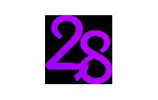 Logo of 28 Mall, Baku