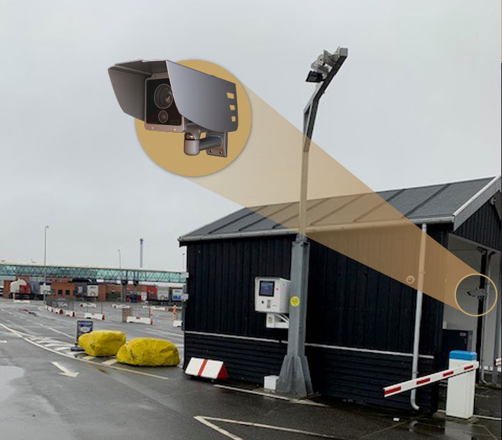 ANPR-based Access Control at the Laeso Ferry Terminal With SmartCAM