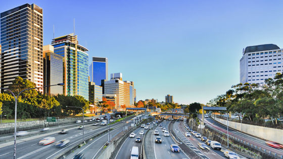 Smart city roads