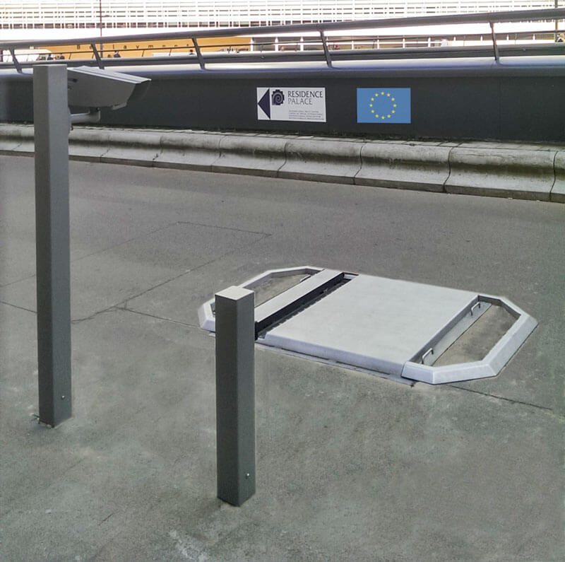 UviScan Under Vehicle Detection With FreewayCAM in Brussels, Belgium