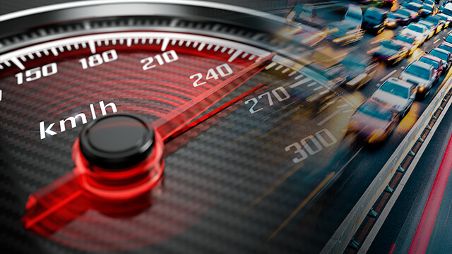 how speed cameras work speedometer