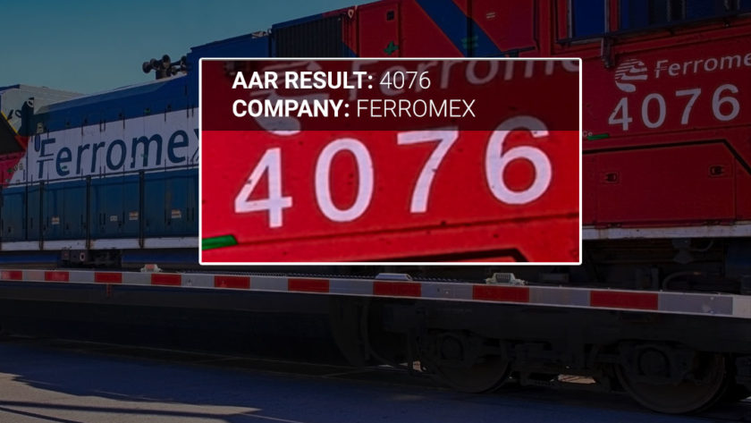 Ferromex Locomotive With AAR Codes