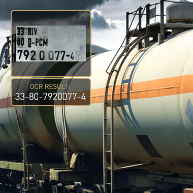 Carmen® wagon code recognition software