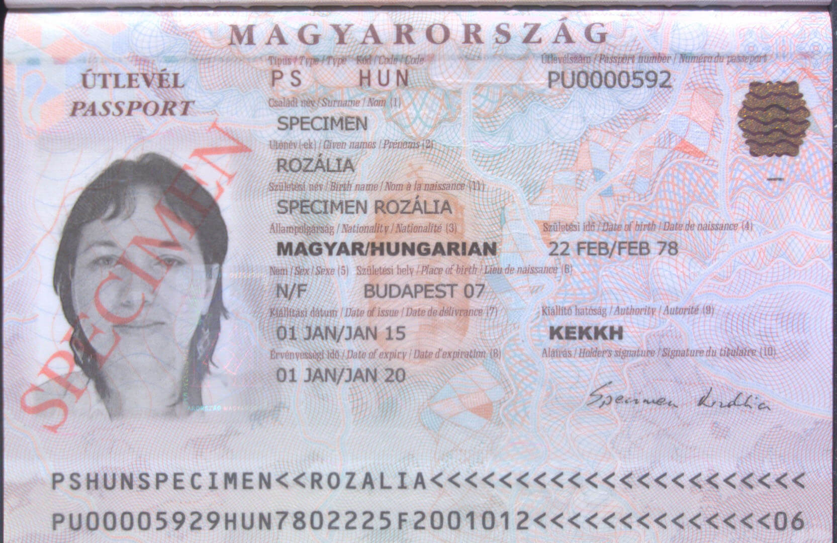 Hungarian passport